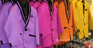 Colorful suits Stock Images