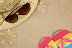 Colorful summer beachwear Stock Photo