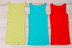 Colorful summer clothes. Stock Image