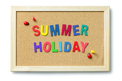 Colorful summer holiday Stock Images