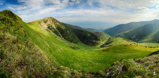 Colorful summer in  mountains. Stock Image