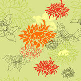Colorful summer pattern. Universal template for greeting card, web page, background Stock Photo