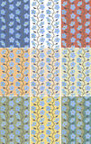 Colorful summer pattern Royalty Free Stock Photo