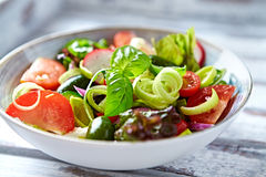 Colorful Summer Salad Royalty Free Stock Photos