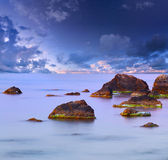 Colorful summer seascape Stock Image