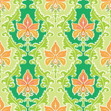 Colorful summer wallpaper. Colorful summer seamless wallpaper ornament bright flowers stock illustration