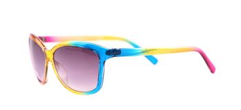 Colorful sun glasses. Isolated on a white background Stock Image