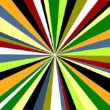 Colorful sunburst. Colorful bright abstract sunburst, vector illustration Stock Images