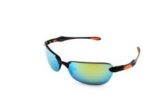 Colorful sunglasses on white Stock Photo