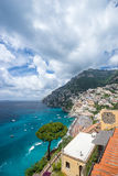 Colorful sunny Amalfi Stock Photo