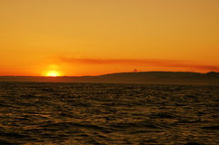 Colorful sunrise royalty free stock photography