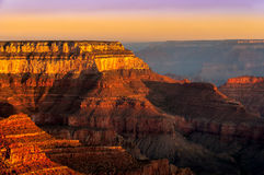 Colorful Sunrise At Grand Canyon National Park Royalty Free Stock Photography