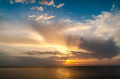 Colorful Sunrise Stock Photography