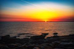 Colorful sunrise Stock Photo