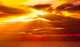 Colorful sunset Royalty Free Stock Photos