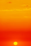Colorful sunset. Royalty Free Stock Image