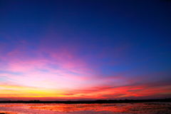 Colorful sunset Royalty Free Stock Photo