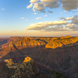 Colorful Sunset at Grand Canyon Royalty Free Stock Photography