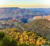 Colorful Sunset at the Grand Canyon Stock Images