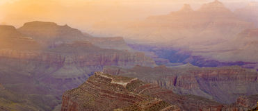 Colorful Sunset at the Grand Canyon Stock Image