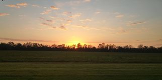 Louisiana sunrise Stock Image
