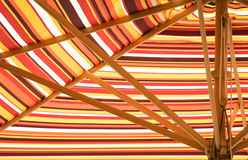 Colorful sunshade Stock Photography