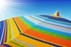 Colorful Sunshades Royalty Free Stock Image