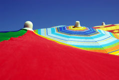 Colorful Sunshades Stock Photos