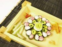 Colorful sushi Stock Photography