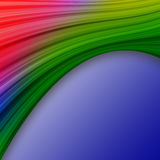 Colorful swath abstract Stock Photography