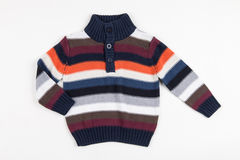Colorful sweater for children Stock Photos