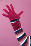 Colorful sweater and glove Stock Photography