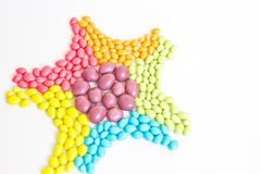 Colorful sweet candies Royalty Free Stock Images