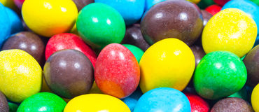 Colorful sweet candies. Close Up of colorful sweet candies Royalty Free Stock Photography