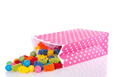 Colorful sweet candy Royalty Free Stock Photos