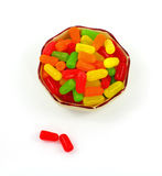 Colorful Sweet Candy Plus Two Stock Photography