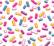Colorful Sweet Candy Sprinkles. Colorful Sweet Candy Sprinkles Stock Image