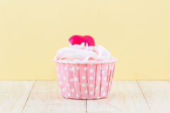 Colorful of sweet cup cake . Stock Images