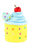 Colorful sweet cupcake Stock Photography