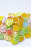 Colorful and sweet jelly candy Royalty Free Stock Photography