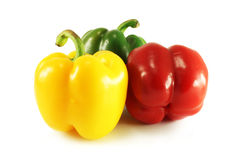Colorful sweet peppers Stock Image