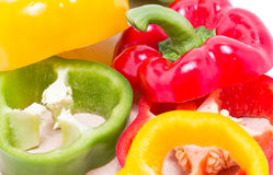 Colorful Sweet Peppers. Royalty Free Stock Photos