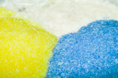 Colorful sweet sticky rice Royalty Free Stock Photos