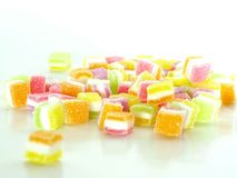 Colorful sweet sugar jelly Stock Image
