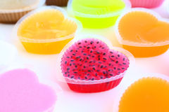 Colorful sweetness jelly Royalty Free Stock Image