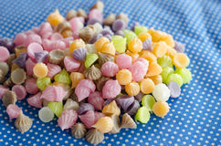Colorful sweetness jelly Royalty Free Stock Photo