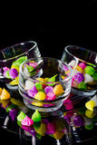 Colorful sweetness Thai style dessert Royalty Free Stock Photos
