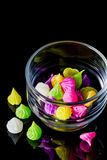 Colorful sweetness Thai style dessert Stock Image