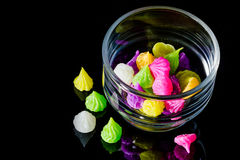 Colorful sweetness Thai style dessert Royalty Free Stock Photo