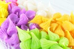 Colorful Sweetness Thai Style Dessert Stock Image